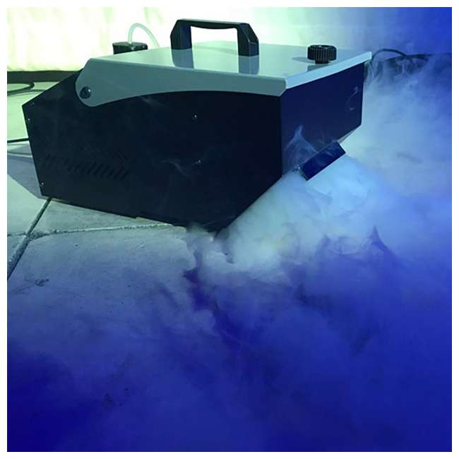 MISTER-KOOL-II American DJ Mister Kool II Water Based Fog Machine Chauvet DJ Hurricane Fog Machine Fluid, 1 Gallon 4