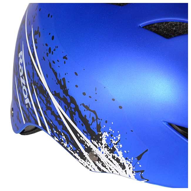 97974 Razor Ambush Child's Helmet, Blue (2 Pack) 4