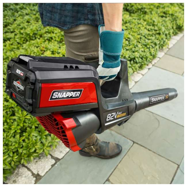 SNAP-1696775-U-C Snapper Cordless Electric Battery Powered 750W Handheld Leaf Blower (For Parts) 4