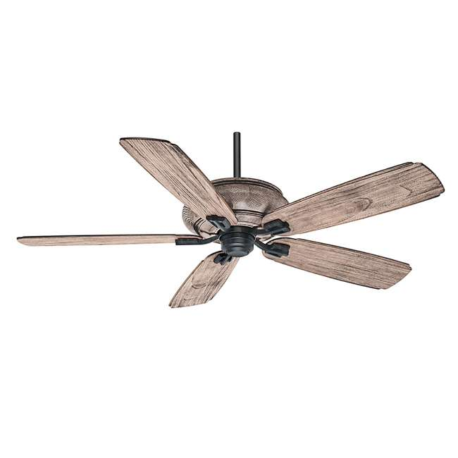 "55052 Casablanca 55052 Heathridge Tahoe 60"" Electric Indoor Wood Ceiling Fan & Remote 1"