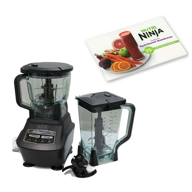 BL770_EGB-RB + CB450 Ninja Mega Kitchen System w/ Recipe Book (Certified Refurbished)