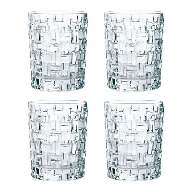 92076 Riedel 92076 Nachtmann Bossa Nova 11.6 Ounce Whiskey Tumbler Set with 4 Glasses