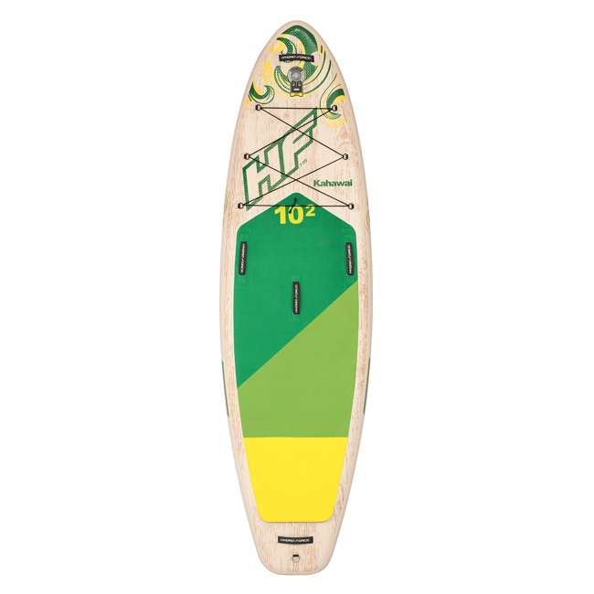 65308E-BW Bestway Hydro-Force Kahawai 10 Foot Inflatable SUP Paddle Board 6