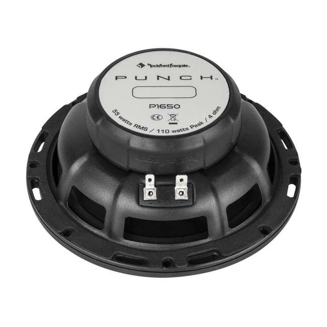 P1650 Rockford Fosgate P1650 6.5-Inch 2-Way Full Range Coaxial Speakers (Pair) 3