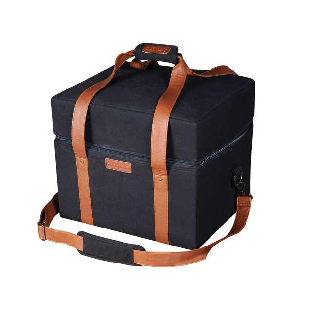 HBCUBEBAG Everdure Cube Portable Charcoal Barbeque Grill Carrier Travel Bag, Black  1