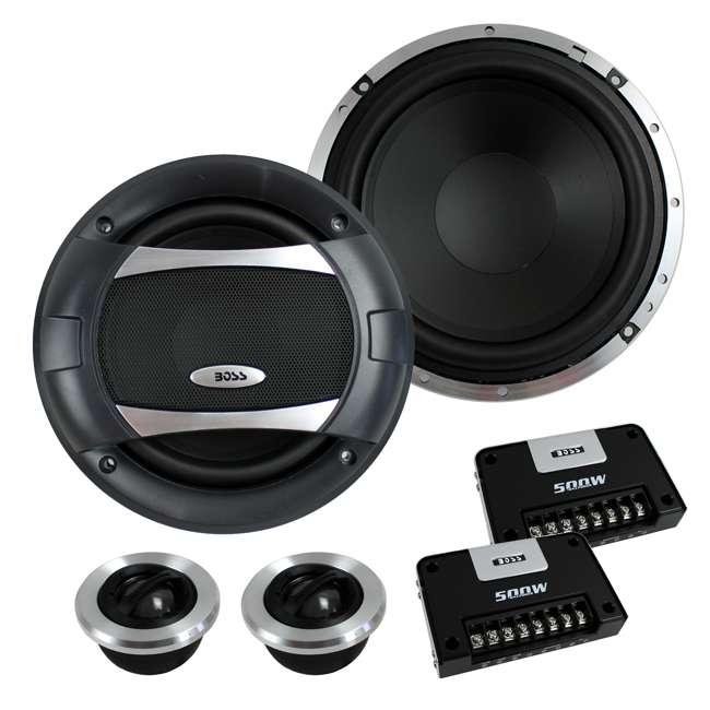 PC652C Boss 6.5-Inch 500 Watt Component Speakers (Pair)   PC65.2C