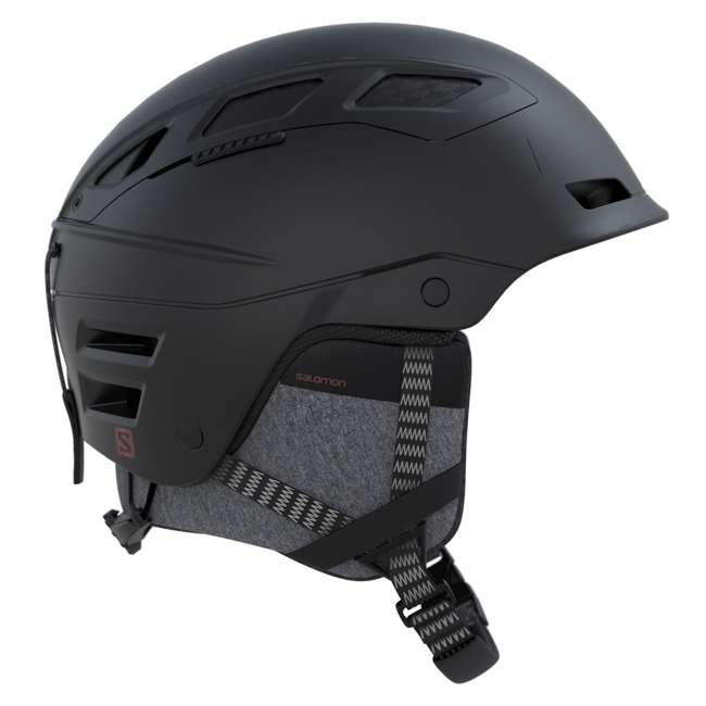 L39918400 - S Salomon Lightweight Size Small Winter Sports Helmet, Black