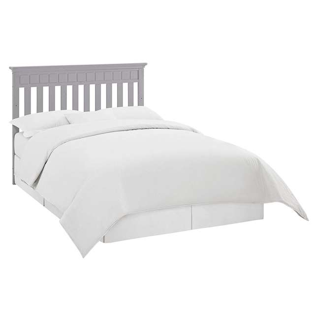 04565-50F + EM642-PHN1 Thomasville Kids Willow Crib, Pebble Gray & Sealy Posturepedic Mattress  5