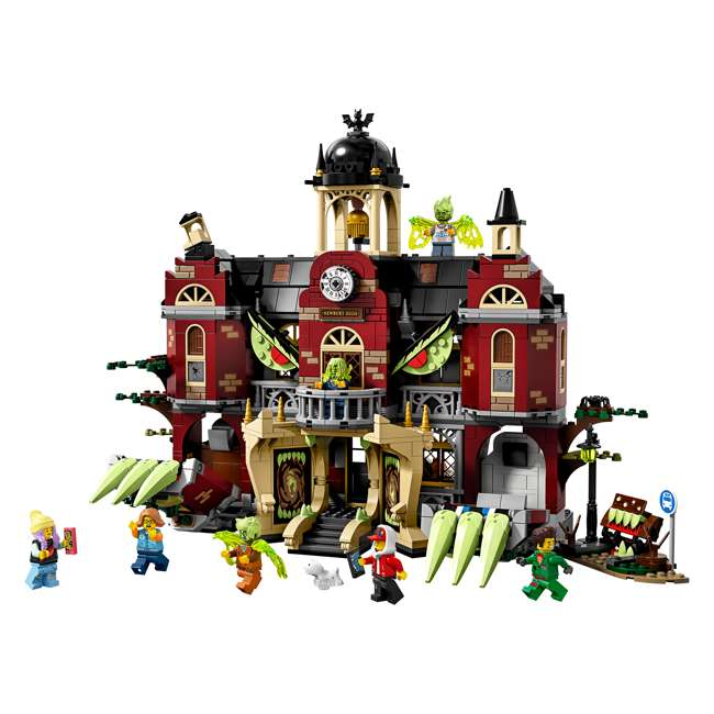 6250519 LEGO AR 70425 Newbury Haunted High School Building Playset w/ 8 Minifigures