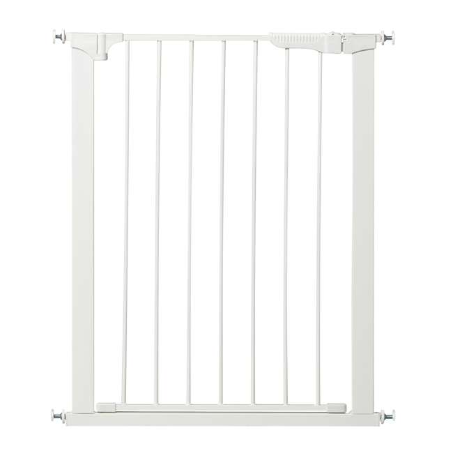 G1200 KidCo Extra Tall & Wide Auto Close Gateway Gate, White (2 Pack) 1