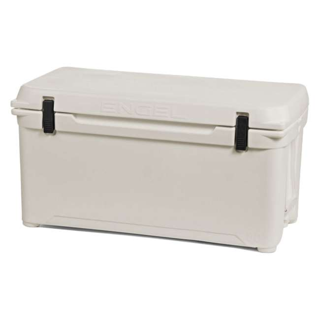 ENG85-CW-U-B Engel Coolers 76 Quart 96 Can Roto Molded Cooler, Coastal White (Used)
