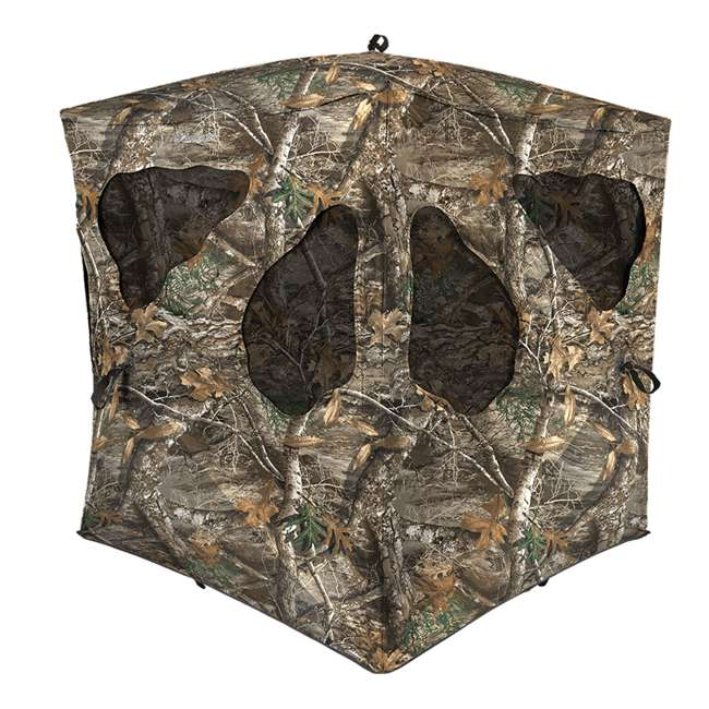 AMEBL3002-U-A Ameristep Durashell Plus Shell Silent Brickhouse Hunting Ground Blind (Open Box) 1