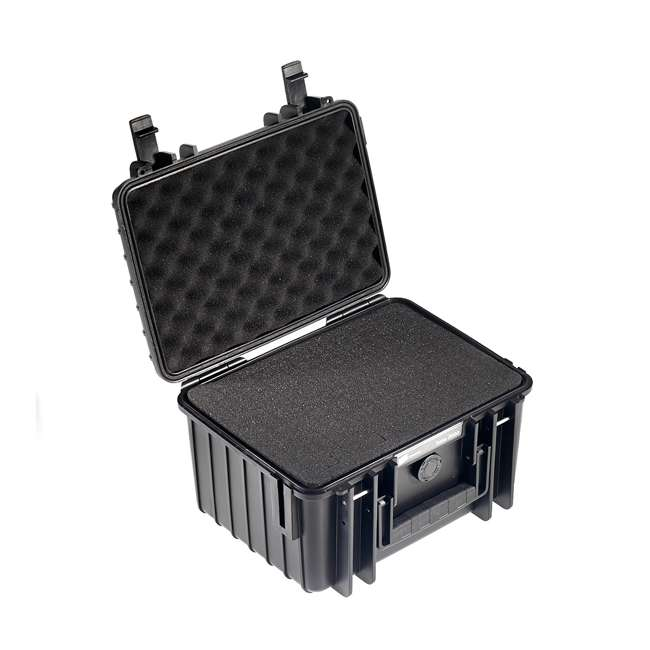 2000/B/SI B&W International 2000/B/SI Hard Plastic Outdoor Case with Removable SI Insert 1