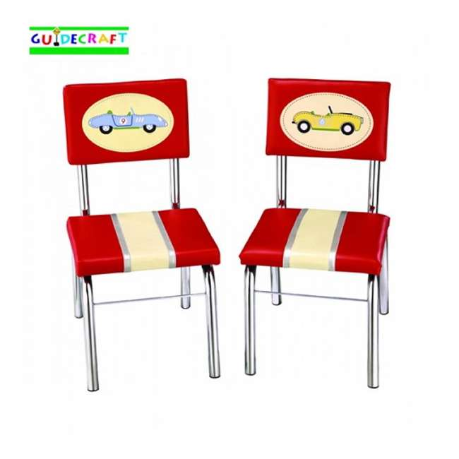G85803 Guidecraft Retro Racers Chairs (Set of 2)