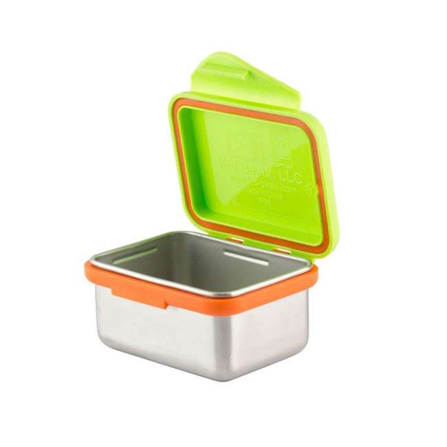 894148002817 + 894148002930 + 894148002978 Kid Basix 23oz Stainless Steel Lunch Box + 13oz and 7oz Reusable Containers 5
