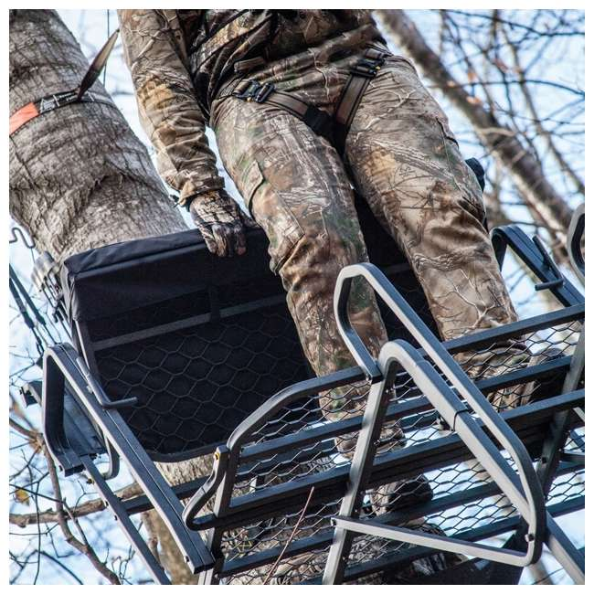 RE650 River's Edge RE650 Lockdown 21-Foot 2-Man Tree Ladder Stand (2 Pack) 4