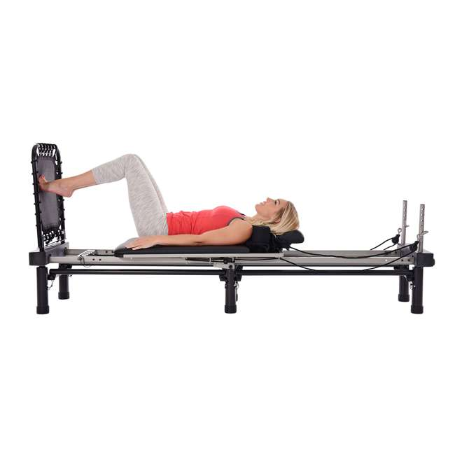 55-4701 Stamina Products 55-4701 AeroPilates Premier Studio 700 w/Cardio Rebounder, Gray 2