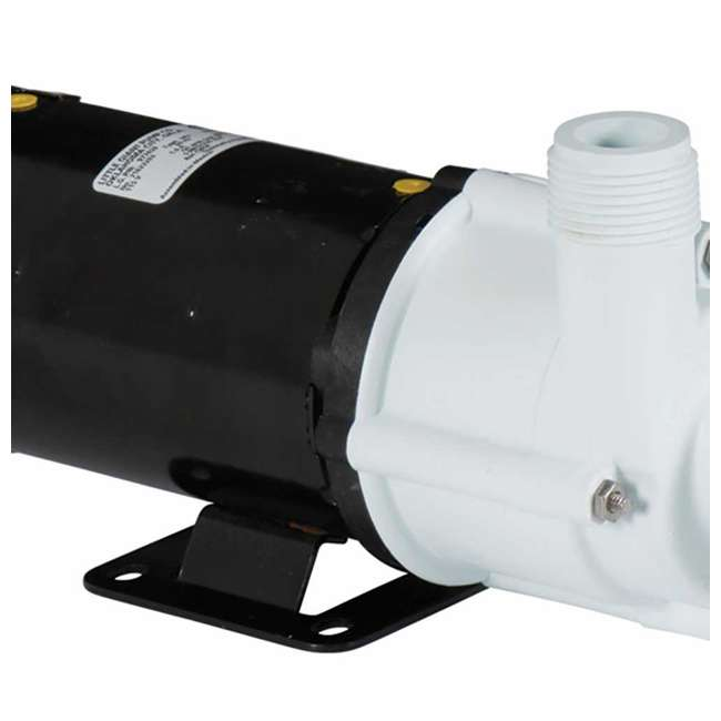 LG-582507-U-B Little Giant 1325 GPH 1/10 HP Magnetic Drive In Line Aquarium Pump (Used) 3