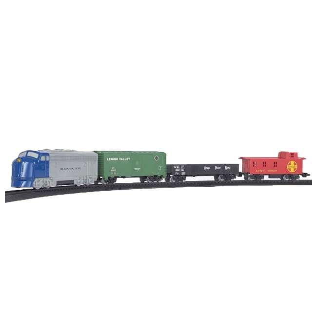 BT-00957 + BT-00706 Bachmann HO Scale Battery Power Rail Champ & Electric Rail Chief BNSF Freight Train Sets 1