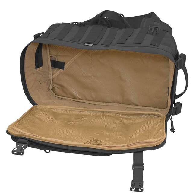 BKP-SWTC-BLK Hazard 4 Tactical Gear Sidewinder Full Sized Laptop Sling Pack Backpack, Black 2