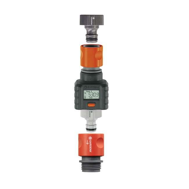 GARD-9188-U Gardena Water Smart Flow Meter Water Timer