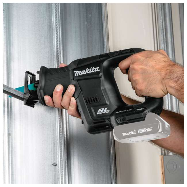 XRJ07ZB Makita XRJ07ZB 18 Volt Battery Powered Brushless Cordless Reciprocating Saw 4