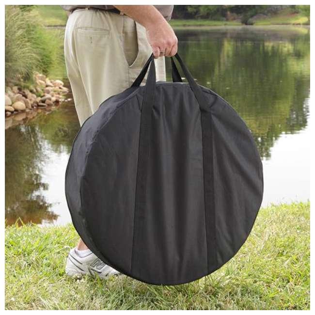 OFW222RFN-1-U-A Pleasant Hearth Grab N' Go Portable Round Fire Pit & Canvas Carry Bag (Open Box) 4