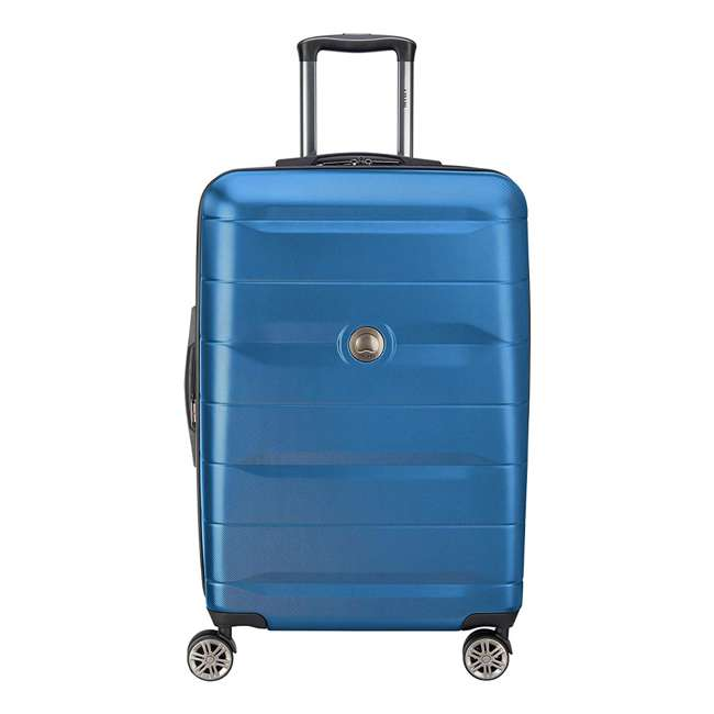 "40386582022 DELSEY Paris Comete 2.0 24"" Expandable Spinner Upright Travel Bag, Steel Blue"