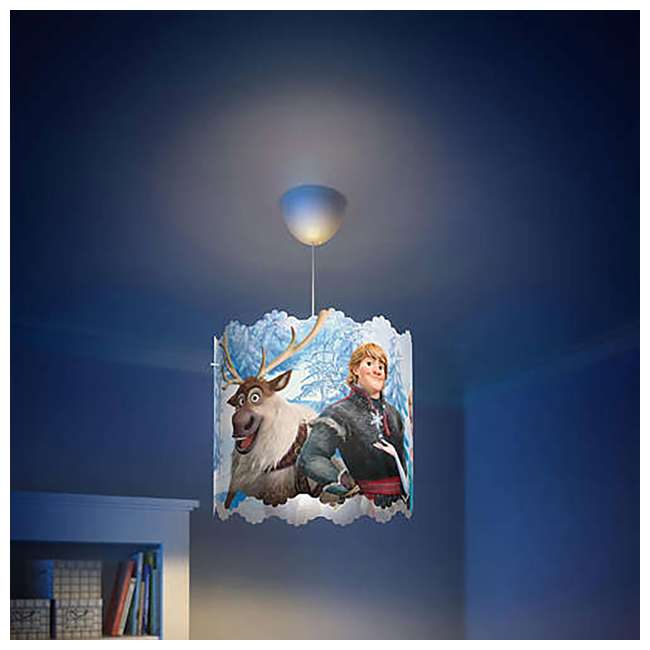 PLC-7175101U0 + PLC-7176737U0 Philips Disney Frozen Lampshade and LED Flashlight 4