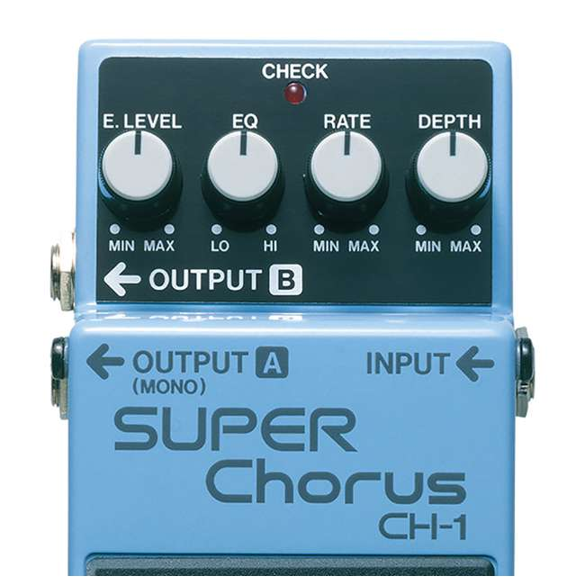 CH-1-OB Boss CH-1 Super Chorus Stereo Effect for Guitar and Keyboards (Open Box) 2
