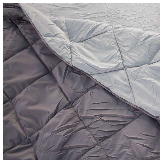 TGT-BEDKIT-2 Tahoe Gear Queen Size Quilted Fitted Sheet Cover & Blanket for Air Mattresses 4