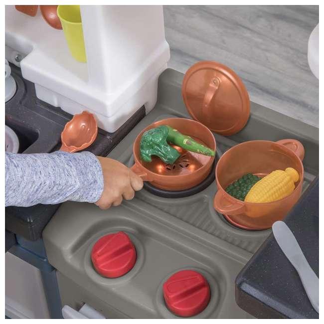 879799 Step2 Plastic Pretend Play Modern Metro Kitchen 3