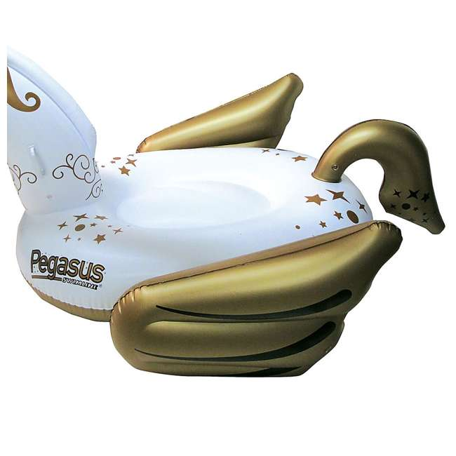 90707-U-A Swimline Giant Pegasus Inflatable Ride On Swimming Pool Float Lounger (Open Box) 3