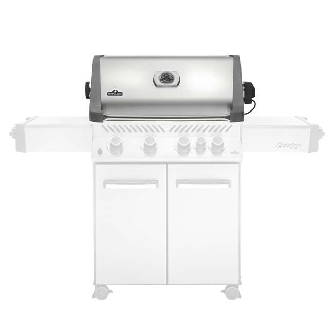 BIP500RBNSS-2-U-C Napoleon 31'' Prestige 500 Built In Stainless Steel Gas Grill Head (For Parts) 2