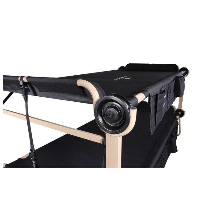 30507BO Disc-O-Bed 2XL Cam-O-Bunk Cot, Black (2 Pack) 9