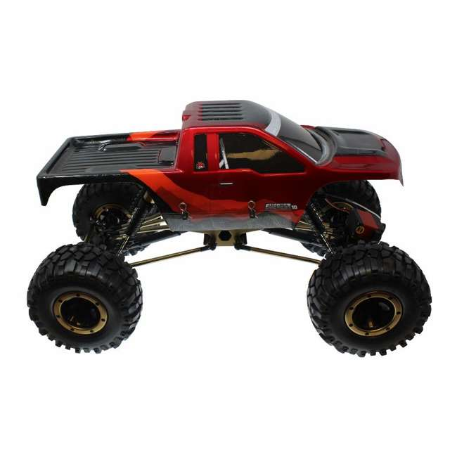 EVEREST-10-RedBlack Redcat Racing Everest-10 1:10 Scale Rock Crawler Electric RC Truck, Red/Black 2
