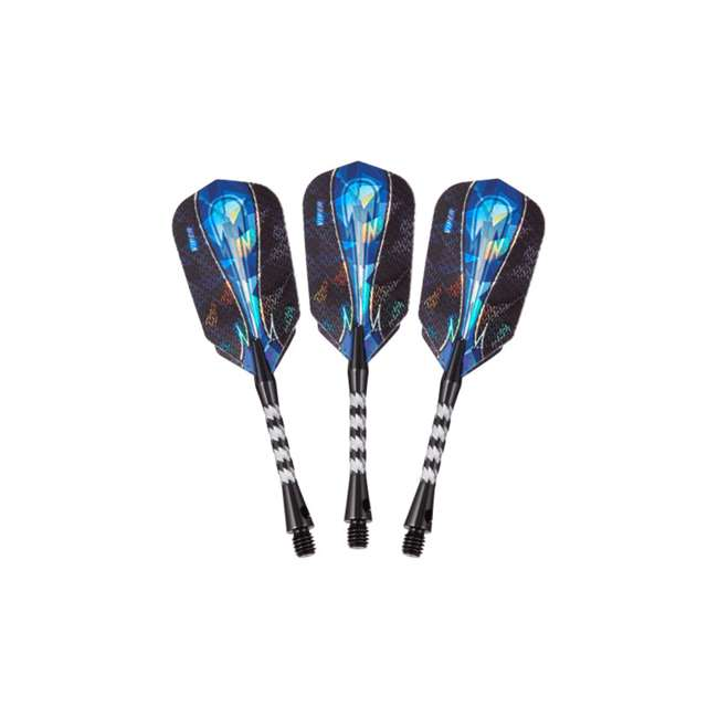 21-3281-18 Viper Astro Tungsten Soft Tip Darts 18g with Travel Case, Red Rings 2
