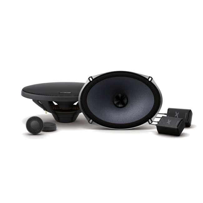 X-S69C-OB Alpine X-Series 6x9 Inch 360-Watt Component Speaker System