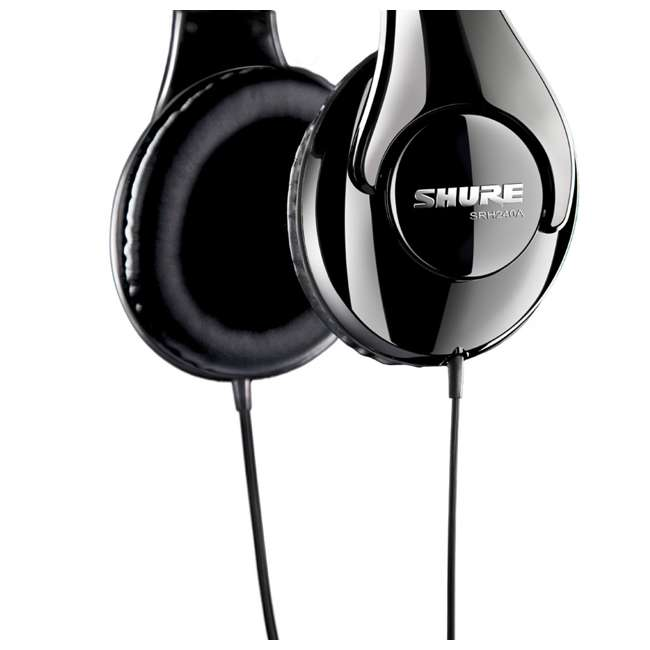 SRH240A Shure SRH240A Professional Over-Ear Headphones (2 Pack) 5