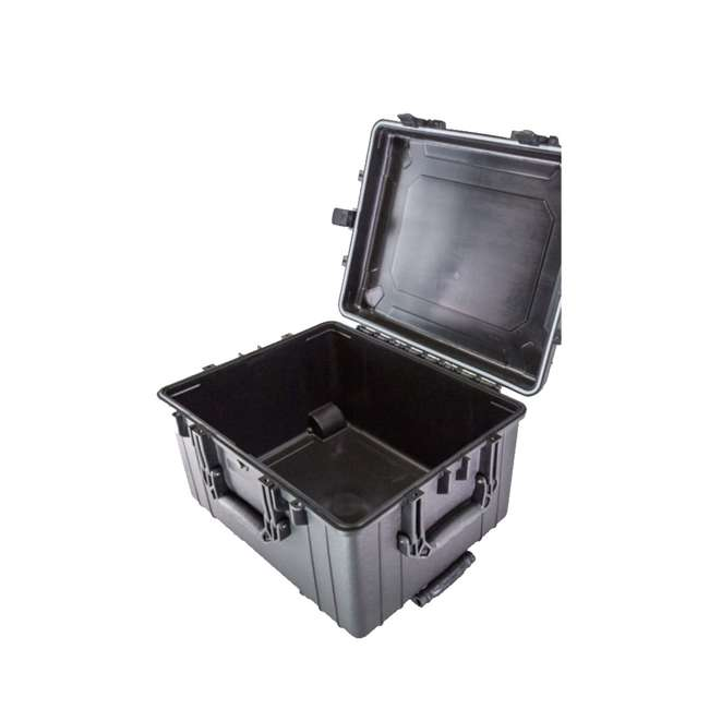H286BKF9790AC1-U-A Condition 1 Hard Shell Weather & Water Resistant Storage Case, Black (Open Box) 1
