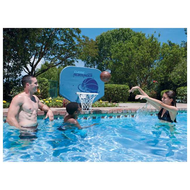 6 x 72781 Poolmaster Classic Pro Rebounder Poolside Basketball Game (6 Pack) 3