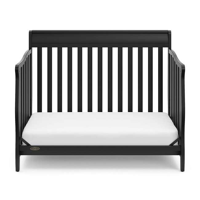 04530-66B Graco Westbrook 4-in-1 Convertible Crib, Black 3