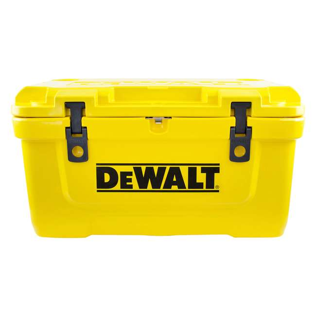 DXC65QT DeWalt 65-Quart Insulated Lunch Box Portable Drink Cooler, Yellow 6