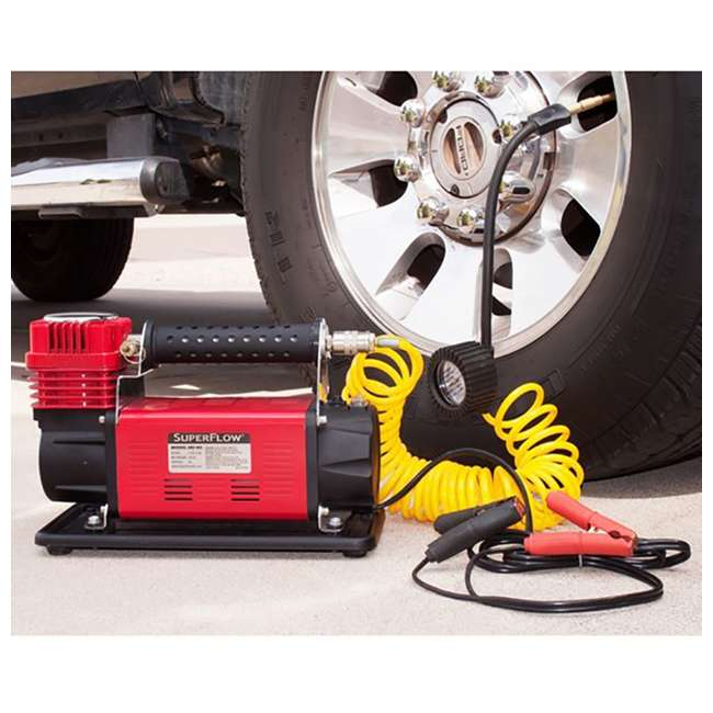MV-90 SuperFlow MV-90 Portable 45-Amp Battery-Powered Air Compressor (2 Pack) 4
