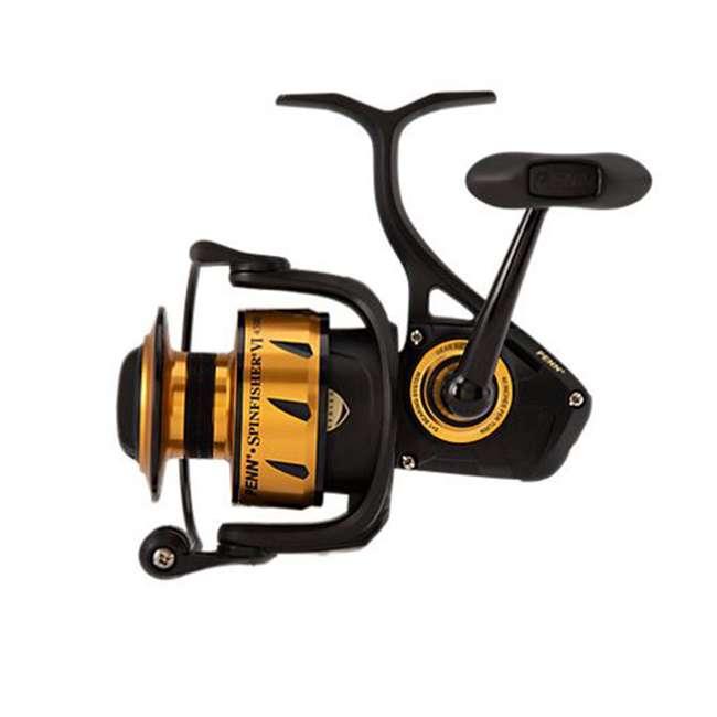 SSVI4500 Penn SSVI4500 Spinfisher VI Sealed Body and Spool Spinning Fishing Reel, Gold 2