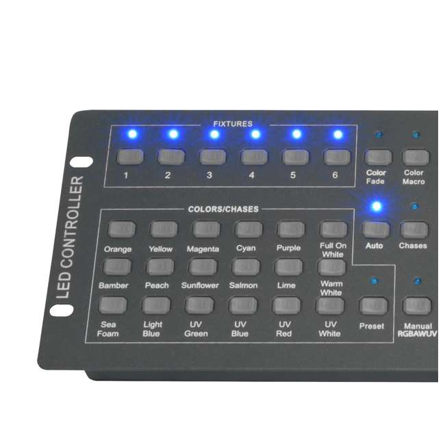 6 x OBEY6 Chauvet OBEY 6 Universal DMX Controller (6 Pack) 5