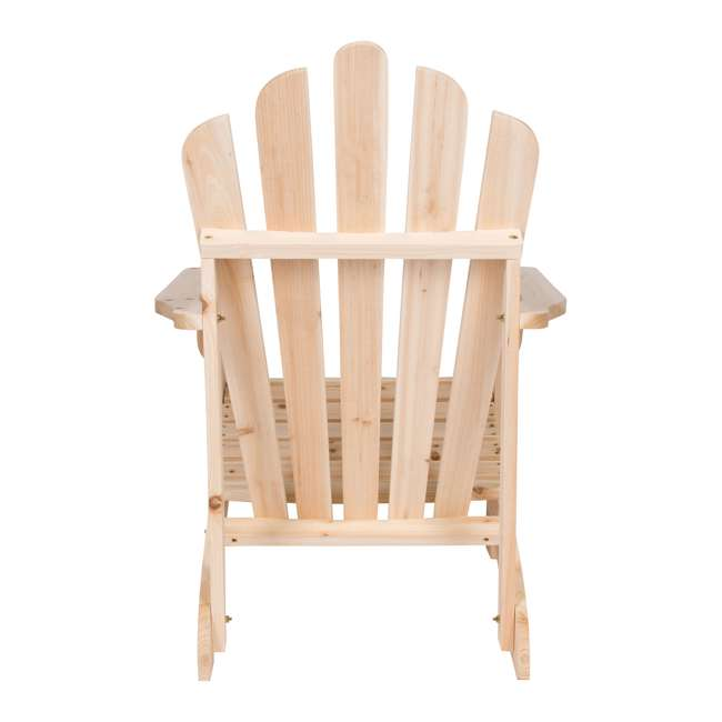 SHN-4611N Shine Company Westport Adirondack Chair, Rust Brown 2