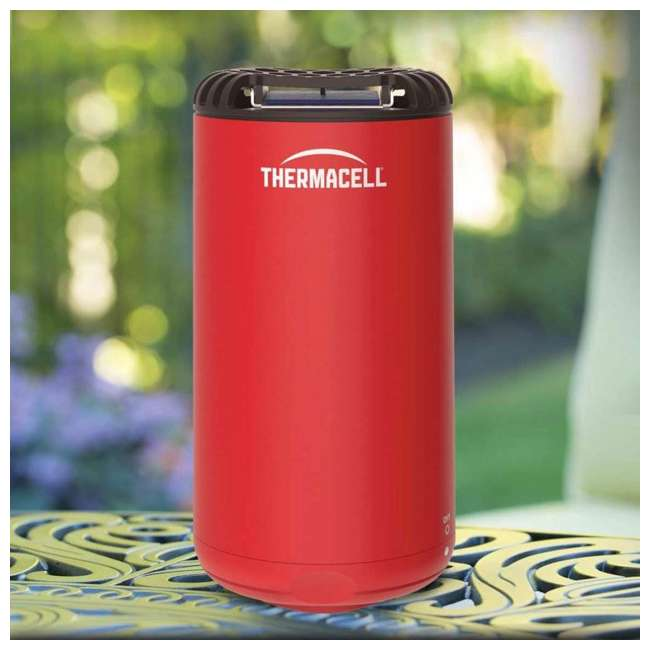 MRPSR Thermacell Outdoor Patio and Camping Shield Mosquito Insect Repeller, Fiesta Red 2