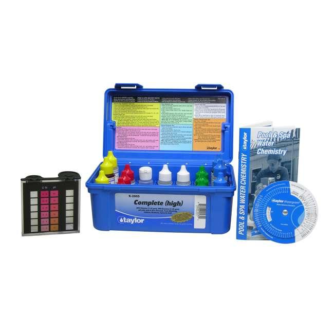 K2005 + K1000 Taylor K2005 Pool Chlorine Test Kit w/ Basic Kit 1