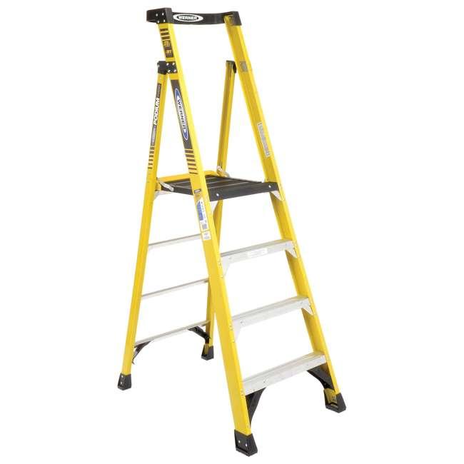 W-PD7304 Werner 4 ft Fiberglass IAA Podium Ladder - OMA